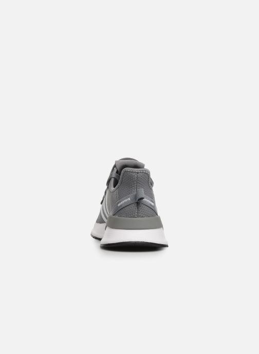 Baskets adidas originals U_Path Run J Gris vue droite