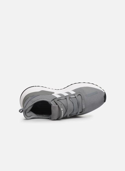 Sneaker adidas originals U_Path Run J grau ansicht von links