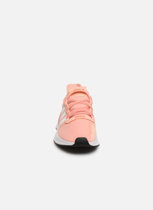 Baskets adidas originals U_Path Run J Rose vue portées chaussures