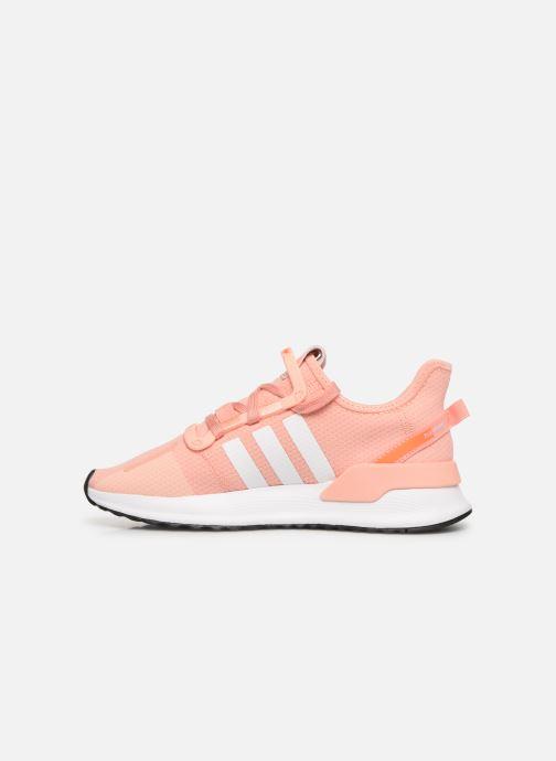 Sneaker adidas originals U_Path Run J rosa ansicht von vorne