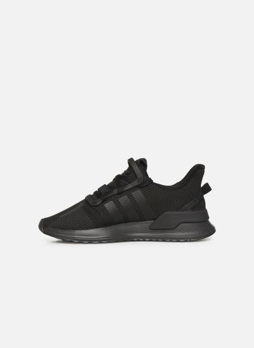 Sneakers adidas originals U_Path Run J Sort se forfra