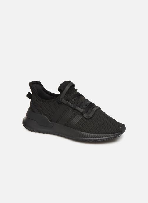 Sneakers adidas originals U_Path Run J Sort detaljeret billede af skoene