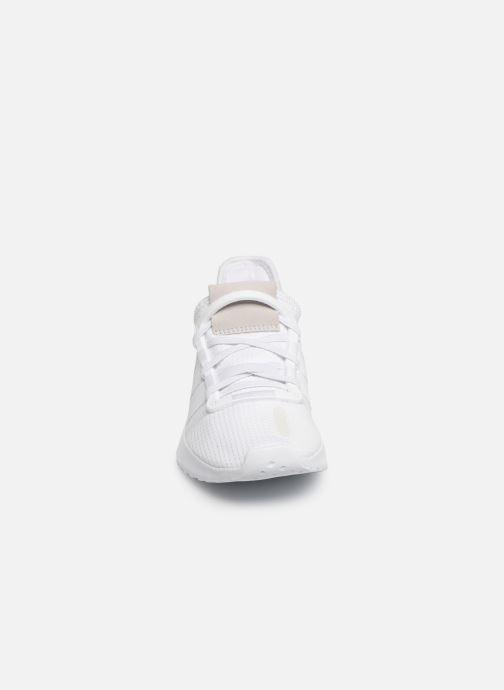 Baskets adidas originals U_Path Run El C Blanc vue portées chaussures