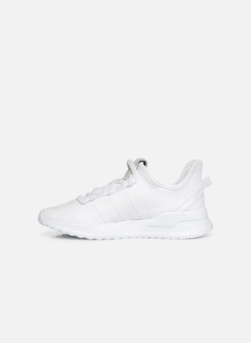 Baskets adidas originals U_Path Run El C Blanc vue face