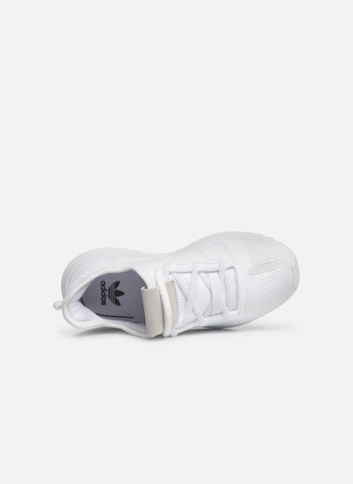 Baskets adidas originals U_Path Run El C Blanc vue gauche