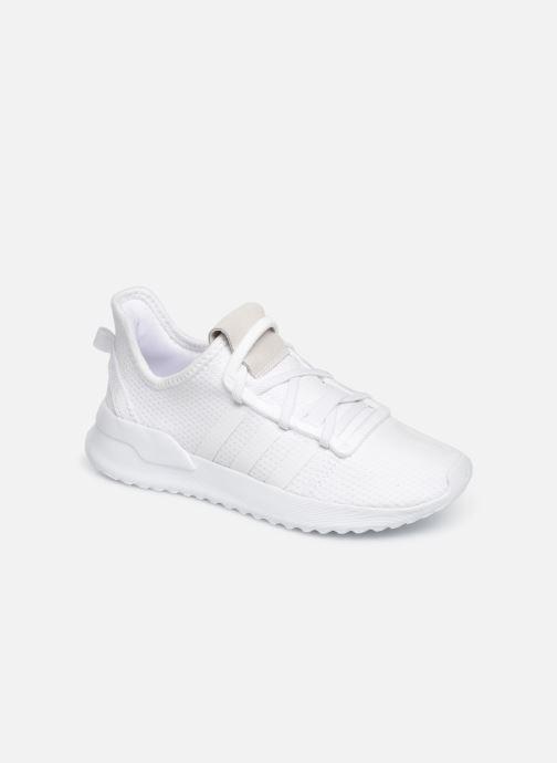 Baskets adidas originals U_Path Run El C Blanc vue détail/paire