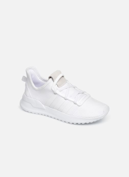 Baskets adidas originals U_Path Run El C Blanc vue détail/paire