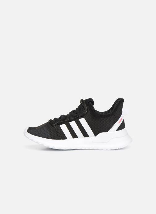 Trainers adidas originals U_Path Run El C Black front view