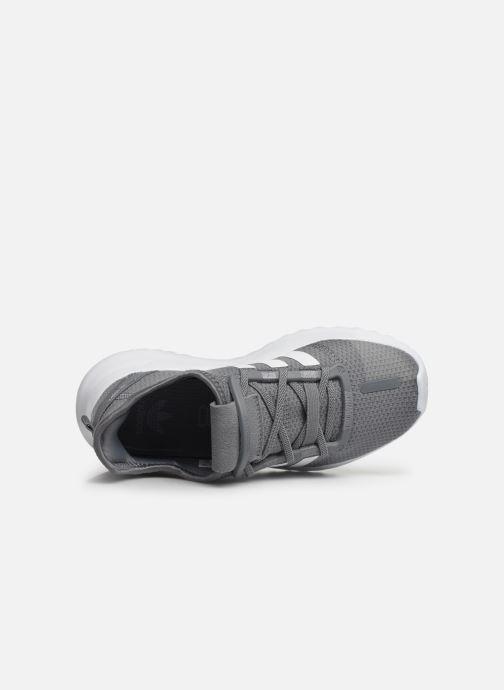 Baskets adidas originals U_Path Run El C Gris vue gauche