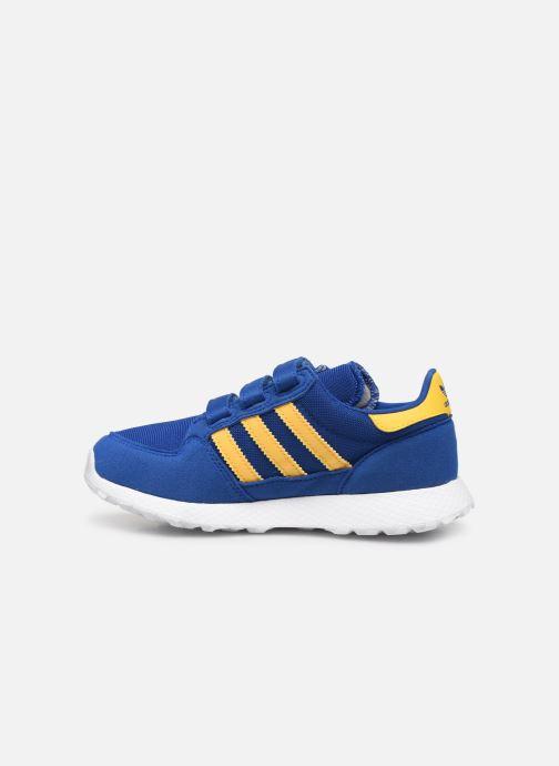 Sneakers adidas originals Forest Grove Cf C Blauw voorkant