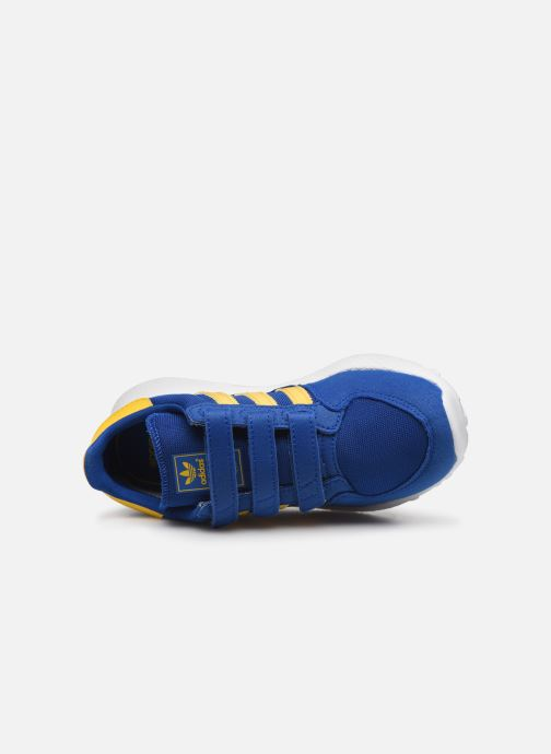 Sneaker adidas originals Forest Grove Cf C blau ansicht von links