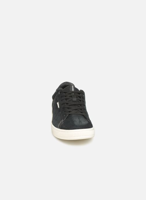 Baskets Jack & Jones JfwOlly Nubuck Noir vue portées chaussures