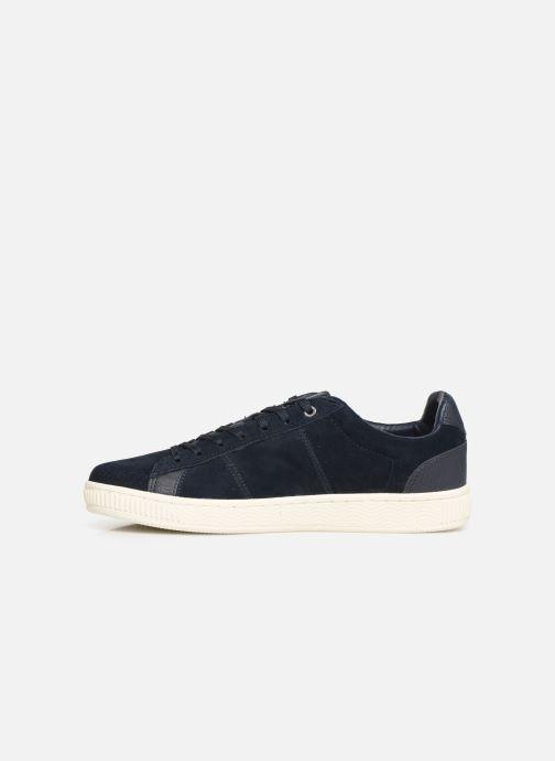 Baskets Jack & Jones JfwOlly Nubuck Bleu vue face