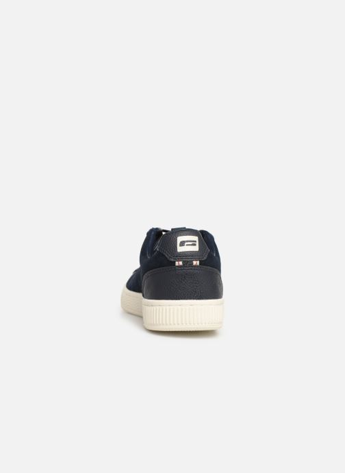 Baskets Jack & Jones JfwOlly Nubuck Bleu vue droite