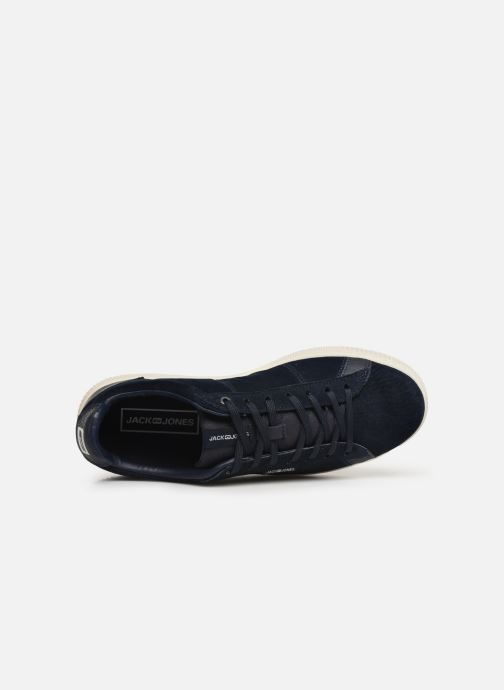 Baskets Jack & Jones JfwOlly Nubuck Bleu vue gauche