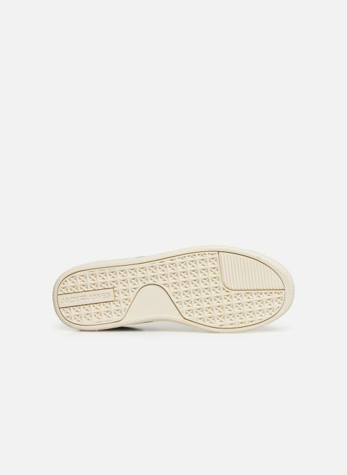 Baskets Jack & Jones JfwOlly Nubuck Bleu vue haut