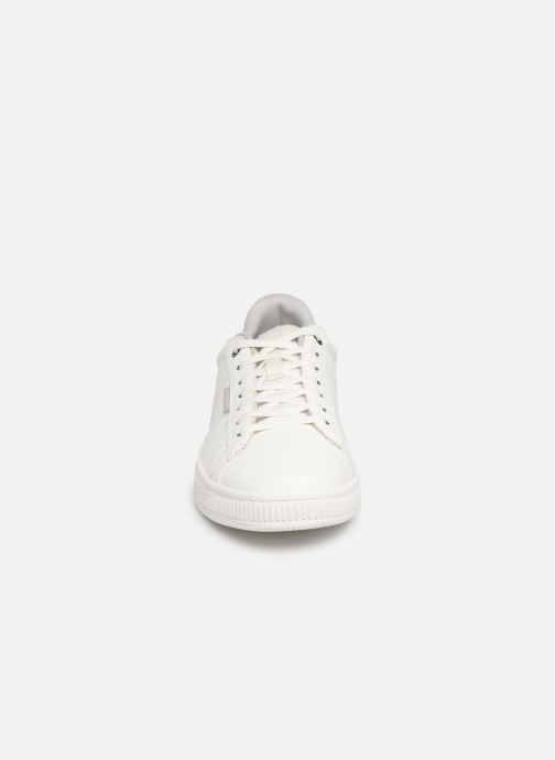 Baskets Jack & Jones Jfw Olly Fusion Leather Blanc vue portées chaussures