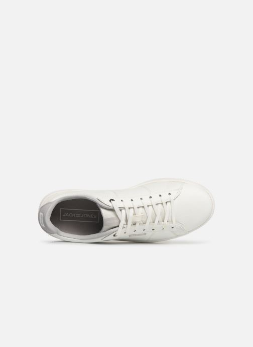 Baskets Jack & Jones Jfw Olly Fusion Leather Blanc vue gauche