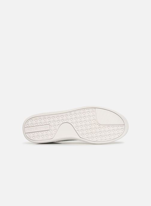 Baskets Jack & Jones Jfw Olly Fusion Leather Blanc vue haut