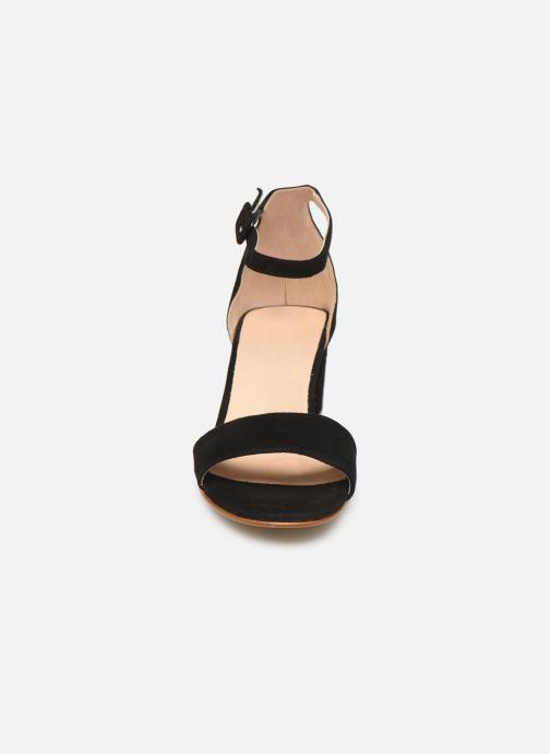 Sandales et nu-pieds Georgia Rose Liesan Noir vue portées chaussures