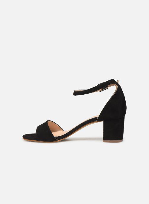 Sandales et nu-pieds Georgia Rose Liesan Noir vue face