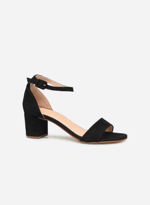 Sandales et nu-pieds Georgia Rose Liesan Noir vue derrière