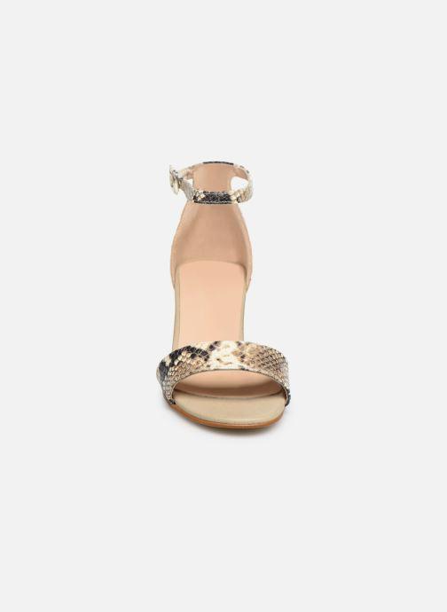 Sandales et nu-pieds Georgia Rose Liesan Beige vue portées chaussures