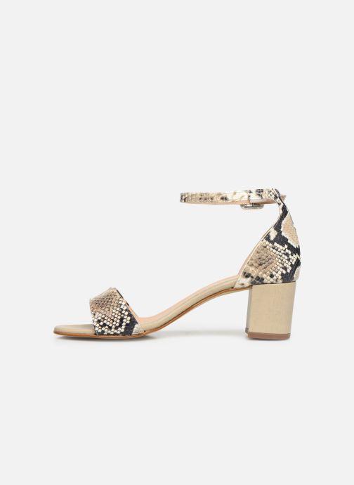 Sandales et nu-pieds Georgia Rose Liesan Beige vue face