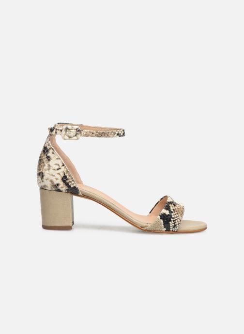 Sandales et nu-pieds Georgia Rose Liesan Beige vue derrière