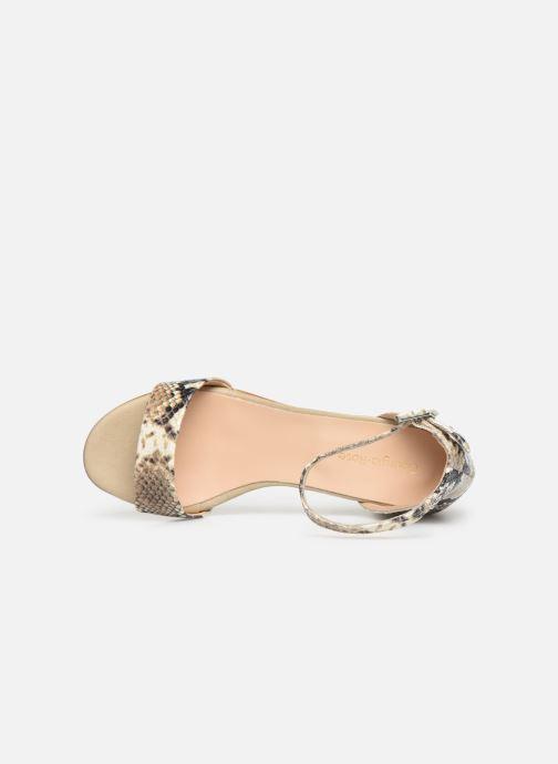Sandales et nu-pieds Georgia Rose Liesan Beige vue gauche