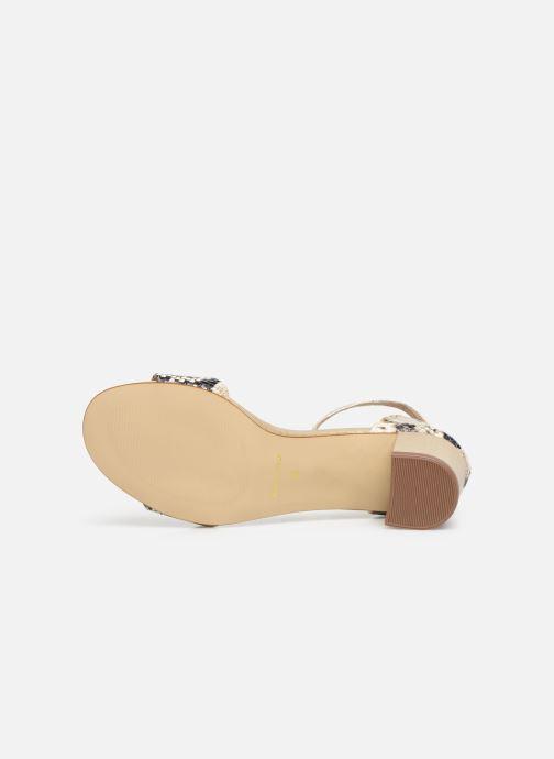 Sandales et nu-pieds Georgia Rose Liesan Beige vue haut