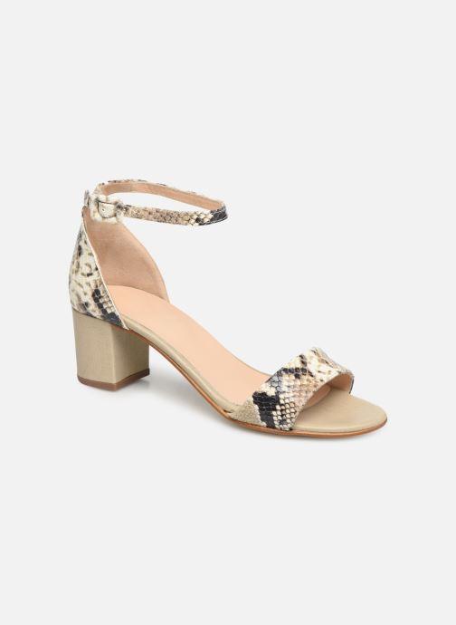 Sandales et nu-pieds Georgia Rose Liesan Beige vue détail/paire