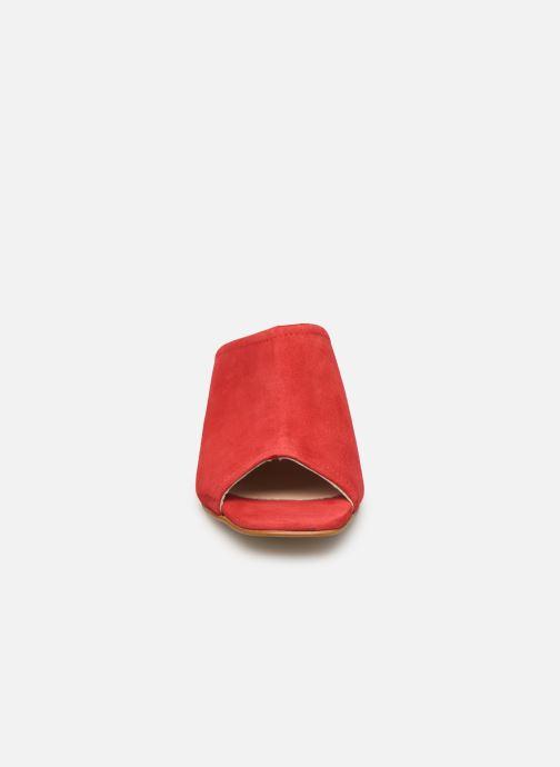 Zoccoli Georgia Rose Lenita Rosso modello indossato