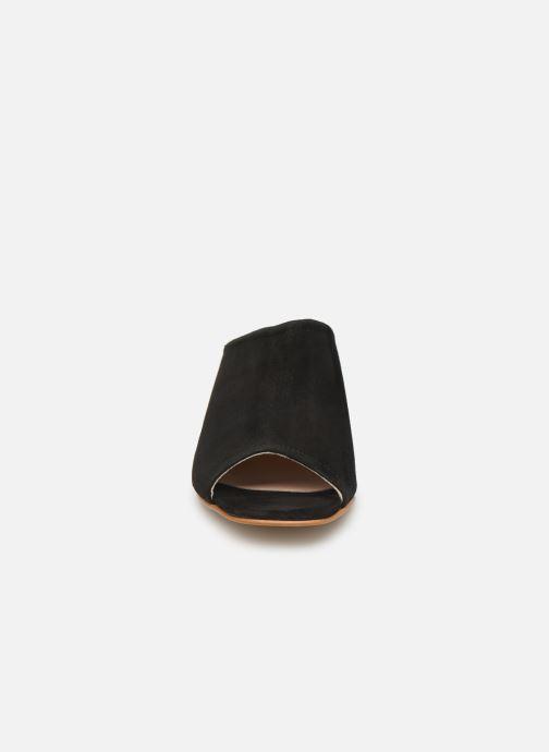 Mules et sabots Georgia Rose Lenita Noir vue portées chaussures