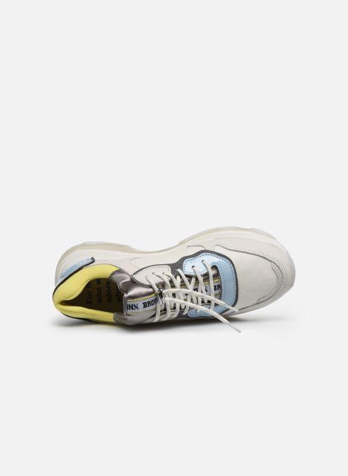 Sneakers Bronx BAISLEY Bianco immagine sinistra