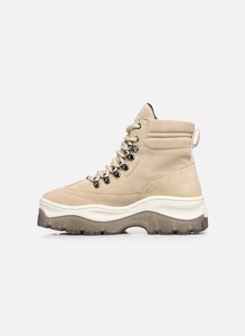 Sneakers Bronx JAXSTAR Beige voorkant