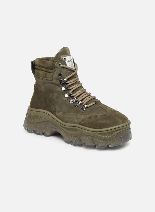Sneakers Bronx JAXSTAR Groen detail
