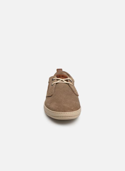Baskets Kickers Snapa Gris vue portées chaussures
