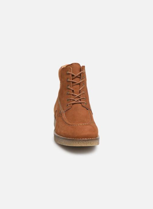 Bottines et boots Kickers Zalpille Marron vue portées chaussures