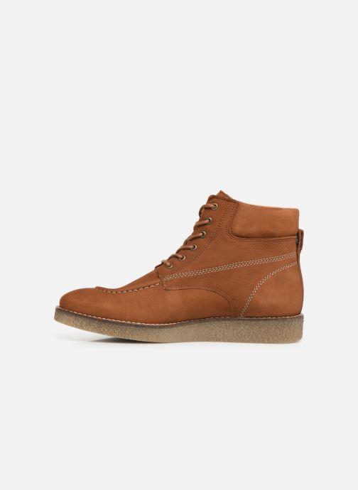 Boots en enkellaarsjes Kickers Zalpille Bruin voorkant