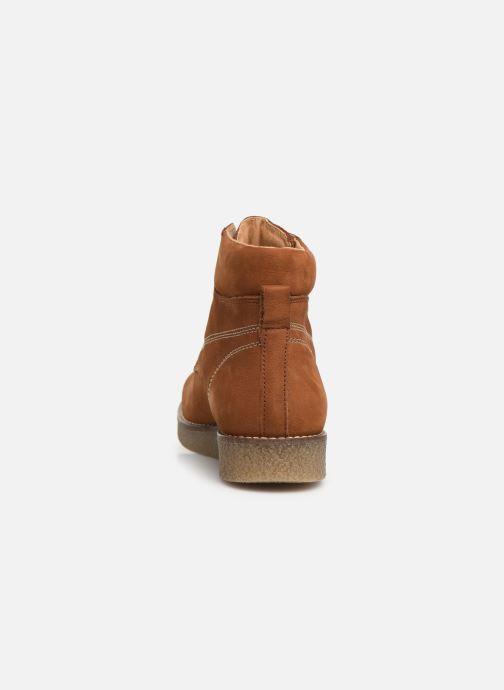 Boots en enkellaarsjes Kickers Zalpille Bruin rechts