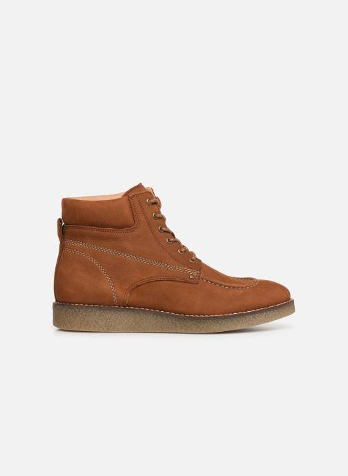 Boots en enkellaarsjes Kickers Zalpille Bruin achterkant