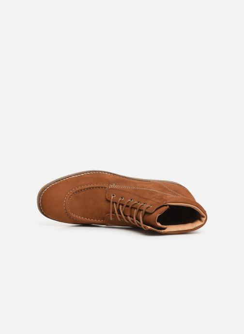 Boots en enkellaarsjes Kickers Zalpille Bruin links