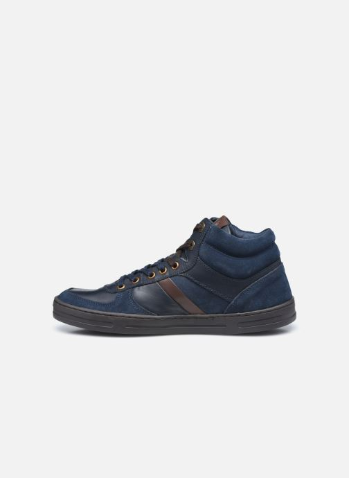 Sneakers Kickers Aponzo Blauw voorkant
