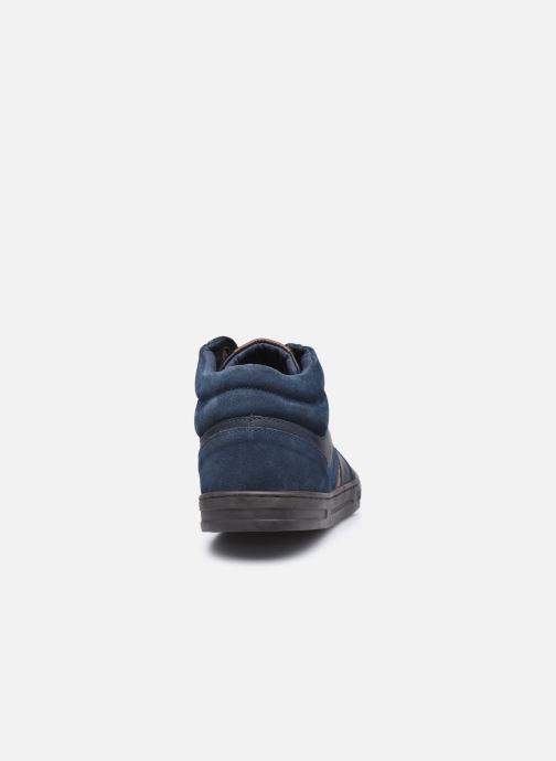 Sneakers Kickers Aponzo Blauw rechts