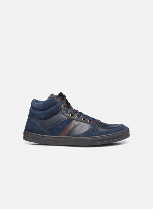 Sneakers Kickers Aponzo Blauw achterkant