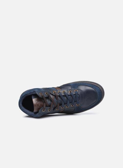 Sneakers Kickers Aponzo Blauw links