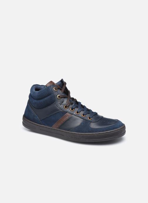 Sneakers Kickers Aponzo Blauw detail