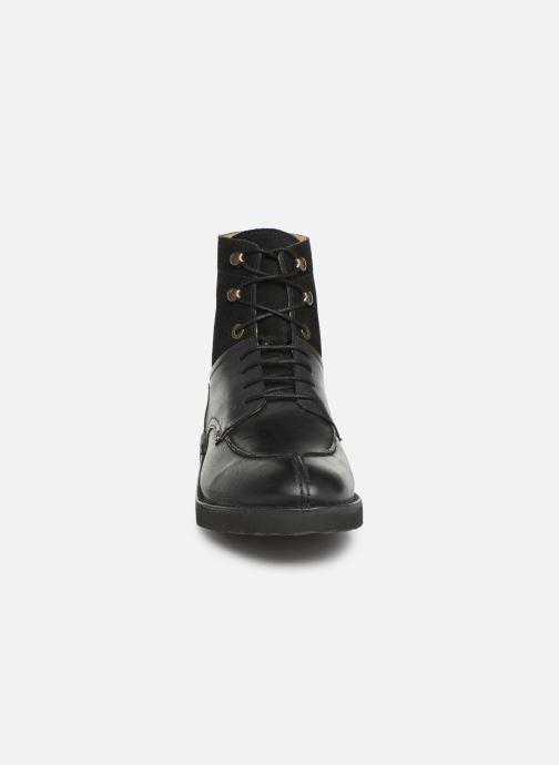 Bottines et boots Kickers Transit H Noir vue portées chaussures