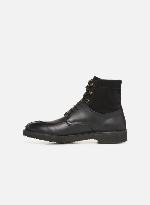 Bottines et boots Kickers Transit H Noir vue face